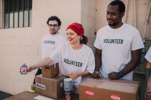 volunteer fundraisers